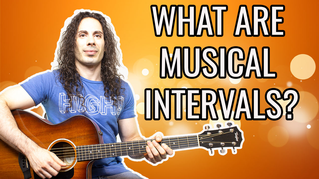WHAT ARE MUSICAL INTERVALS ?