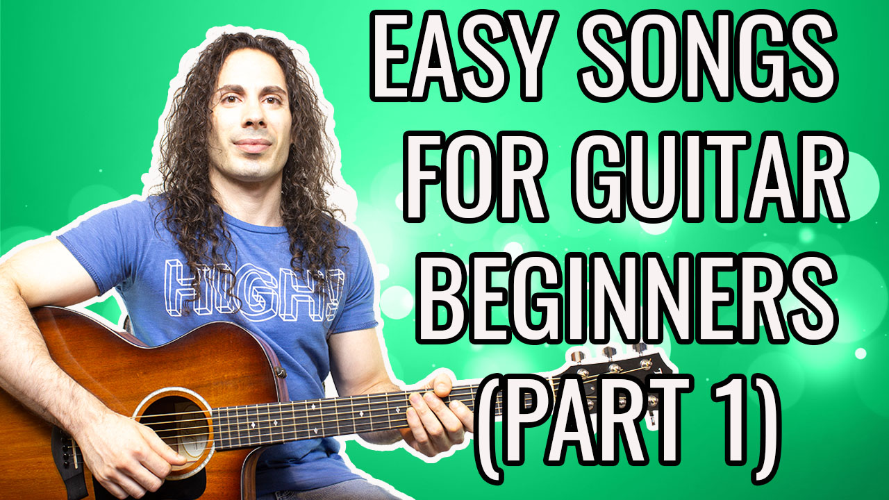 10 EASY SONGS FOR  GUITAR BEGINNERS TO LEARN (PART 1)