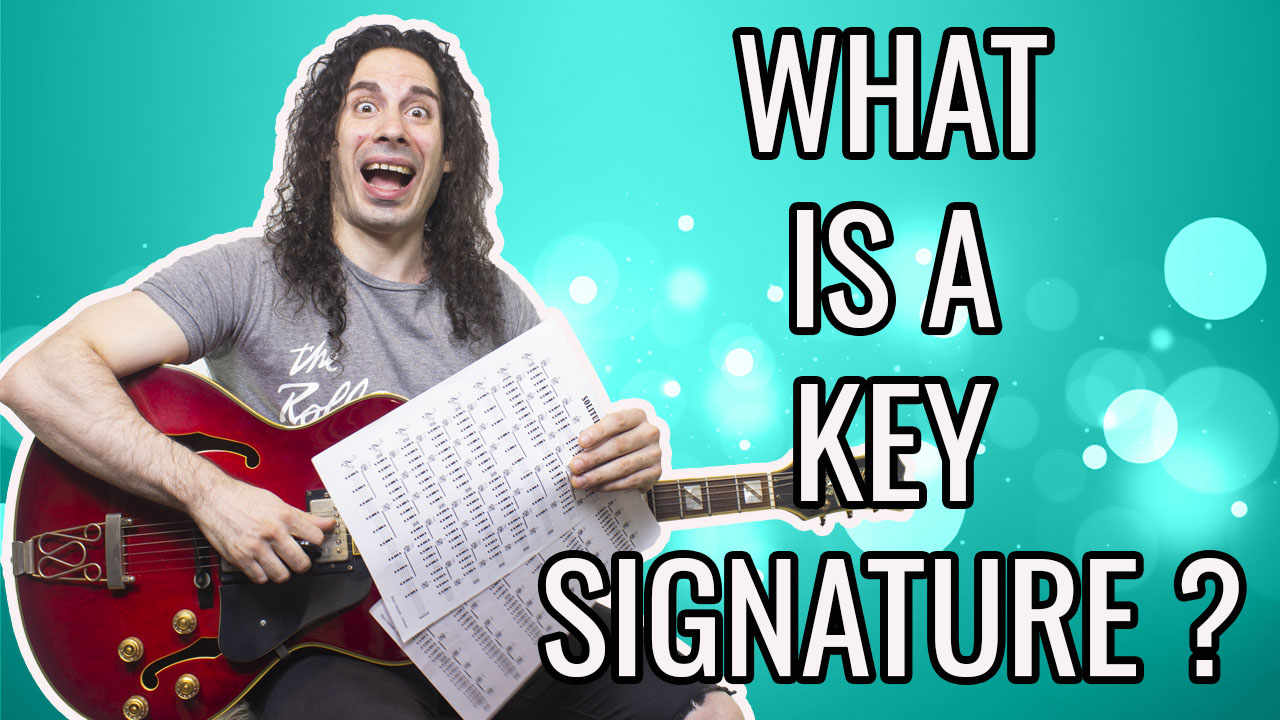 What is a key signature?